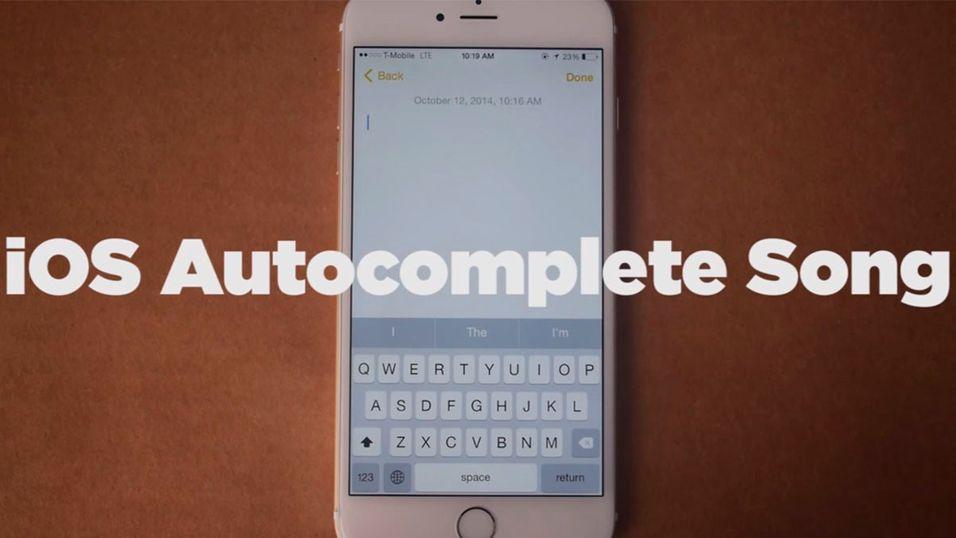 Nye iPhone er en utmerket låtskriver