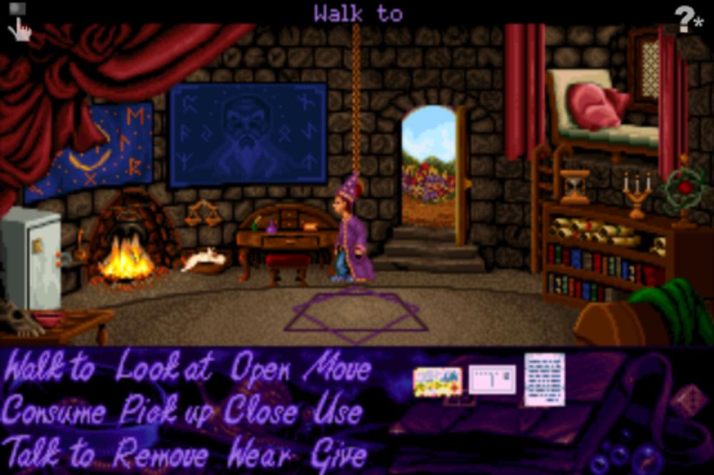Simon the Sorcerer var et av de første støttede spillene.