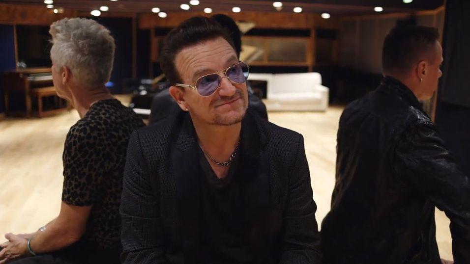 Bono sier unnskyld for iOS-albumet