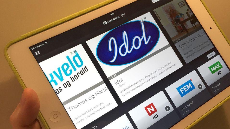 Canal Digital lanserer ny iPad-tjeneste