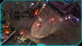 Skjermbilete frå Halo: Spartan Assault.