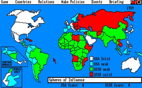 Balance of Power fikk en oppgradert versjon i 1990. (bilde: Joachim Froholt/Gamer.no).