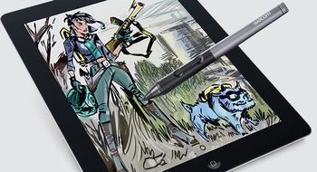 Slik blir iPad et tegnebrett