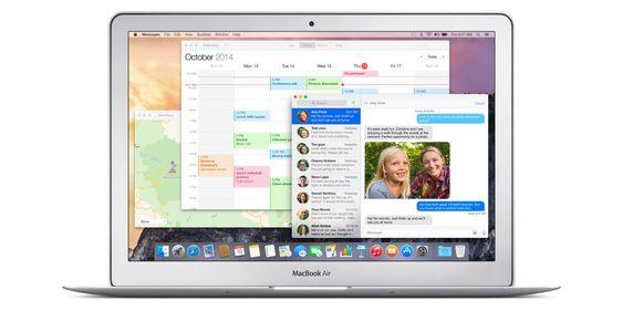 OS X Yosemite ble lansert.