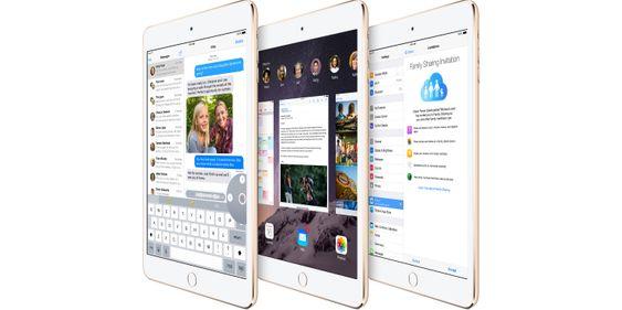 iPad Mini har nå TouchID.