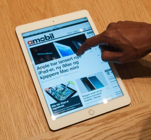 Helt uten reflekser er ikke iPad Air 2, men i kraftig belysning oppleves refleksene som langt mer dempet enn vi er vant til.