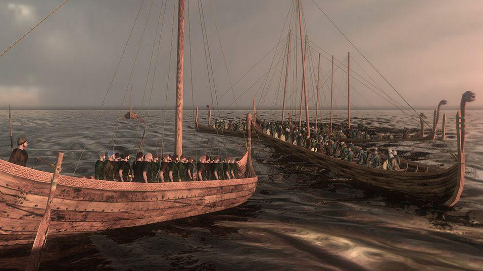 Vikingene invaderer Mount & Blade: Warband