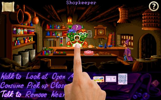 Da Simon the Sorcerer ble gjenutgitt på iOS for et par år siden, valgte utviklerne å legge med både det originale midi-sporet og James forbedrede versjon.