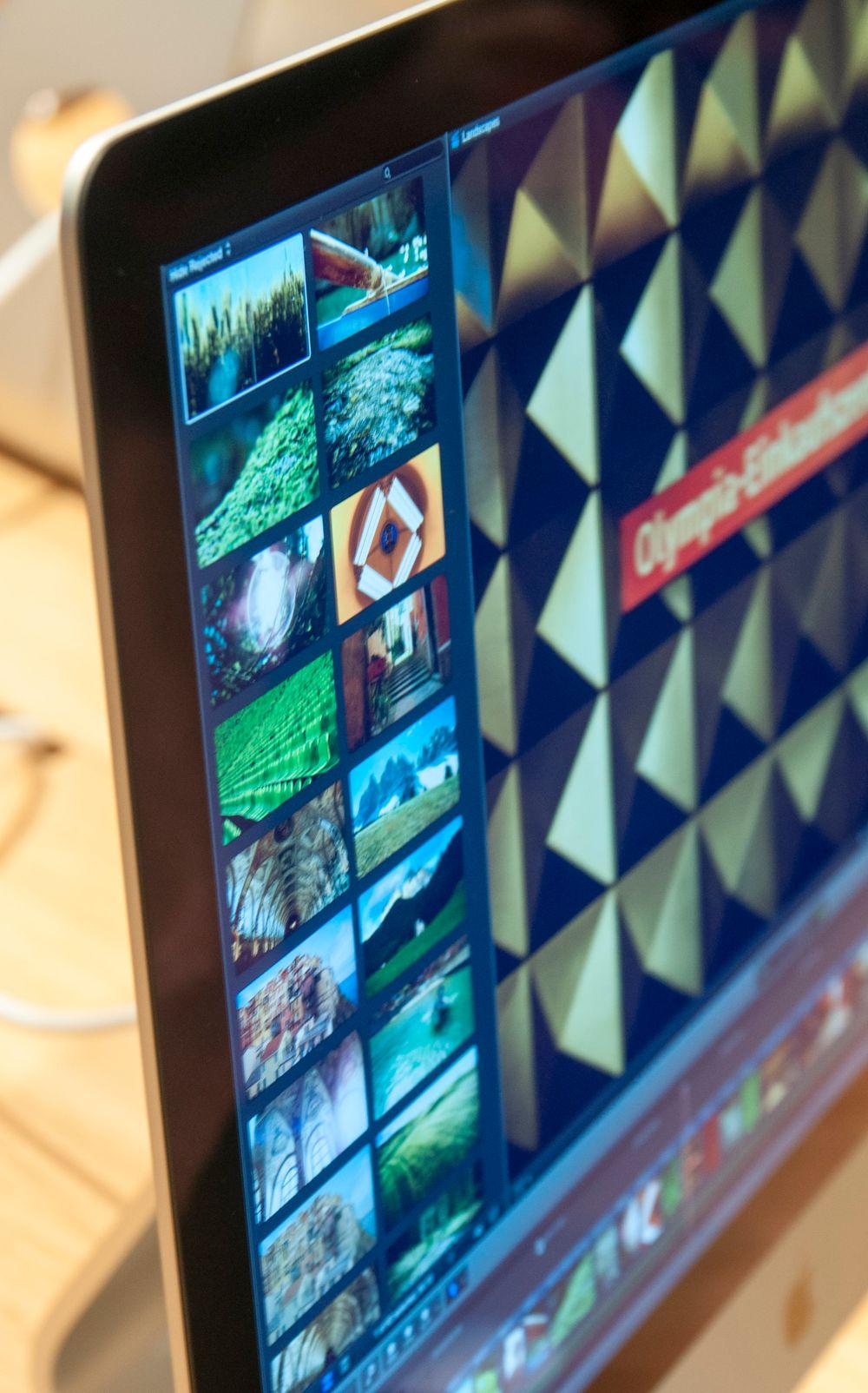 En av de store fordelene med oppløsningen er at du kan jobbe med 4K-innhold og fortsatt ha plass til verktøy og tidslinjer rundt videovinduet.
