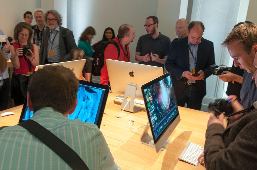 Interessen for Apples nye alt-i-ett-maskin var stor.