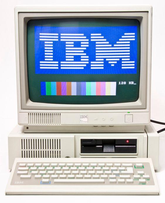 IBM PCjr fra 1984, en av de første maskinene med BIOS-konfigurasjonsmeny.
