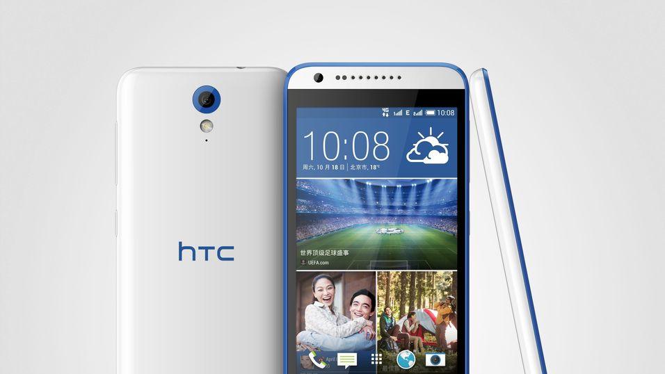 Slik ser HTC Desire 820 Mini ut.