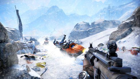 Far Cry 4 tek oss med til isklade fjellstrøk.