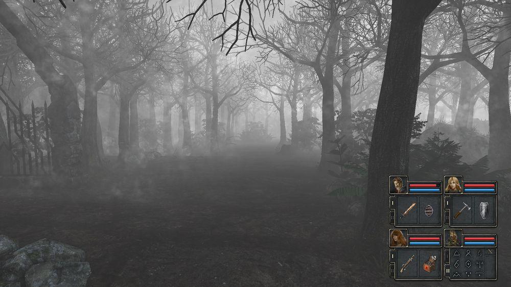 Kirkegården er guffen selv midt på dagen. (bilde: Joachim Froholt/Gamer.no).