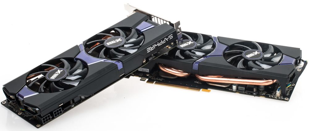 Sapphire Radeon R9 285 OC Dual-X Crossfire.