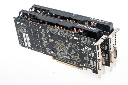 Med nyere AMD-kort slipper du å fikle med broer og tilkoblinger for å kjøre to eller flere samtidig.