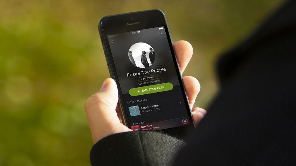 Spotify med eget familie-abonnement