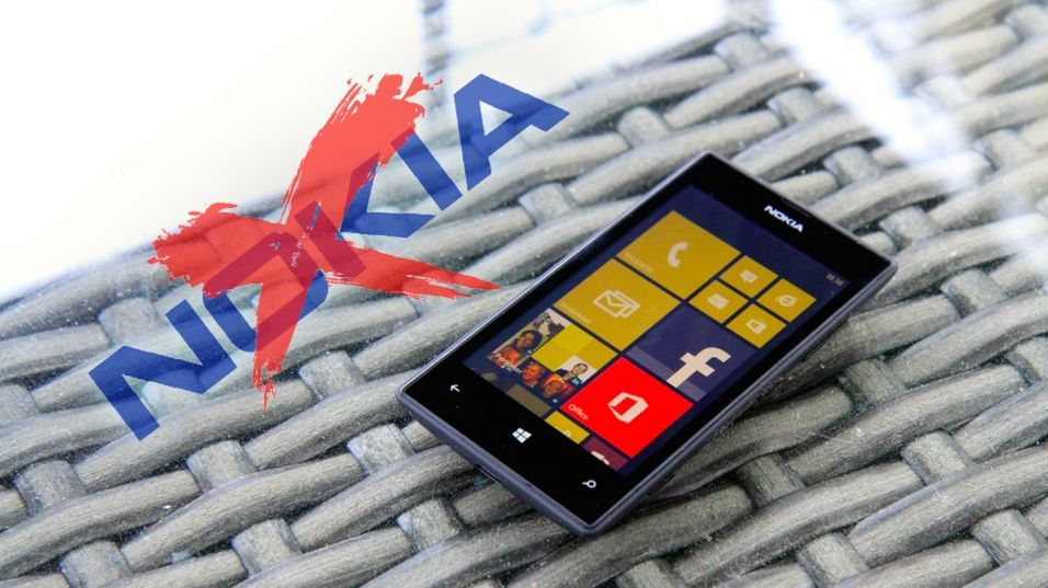 Nokia Lumia no more.