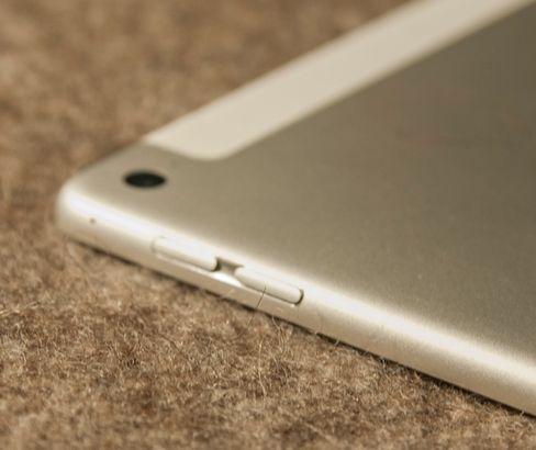 Den velkjente skyvebryteren fra tidligere generasjoner iPad er vekk.
