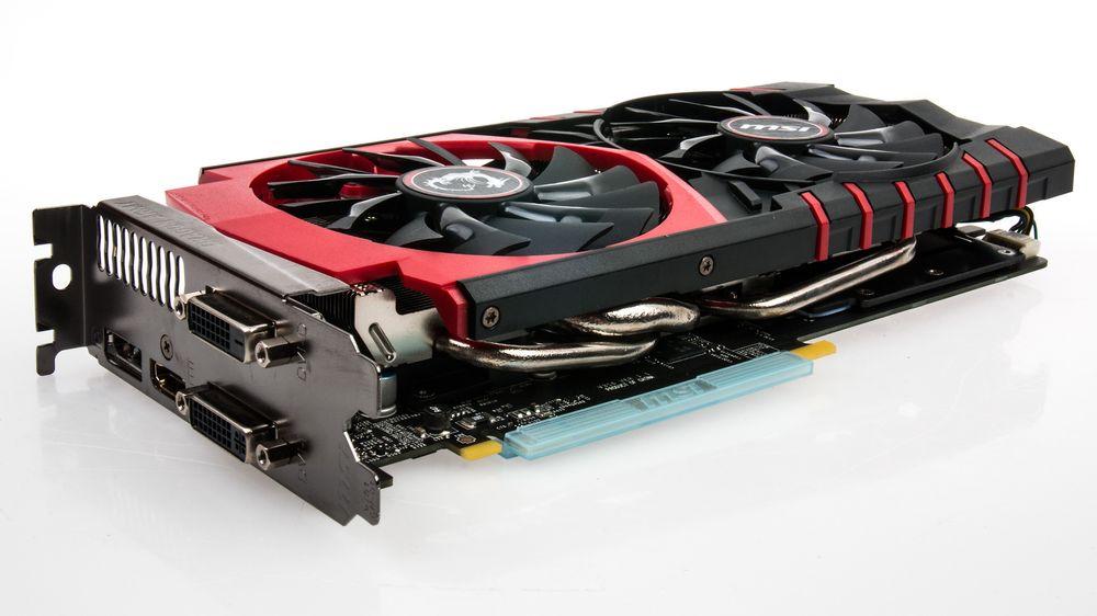 MSI GeForce GTX 970 Gaming 4G Twin Frozr V er langt ifra det største skjermkortet vi har sett.