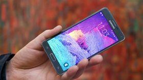 Galaxy Note 5 ser ut til å få samme skjerm som på forgjengeren, her avbildede Note 4.