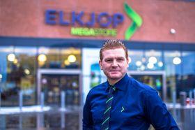 Kommunikasjonssjef Øystein A. Schmidt i Elkjøp.