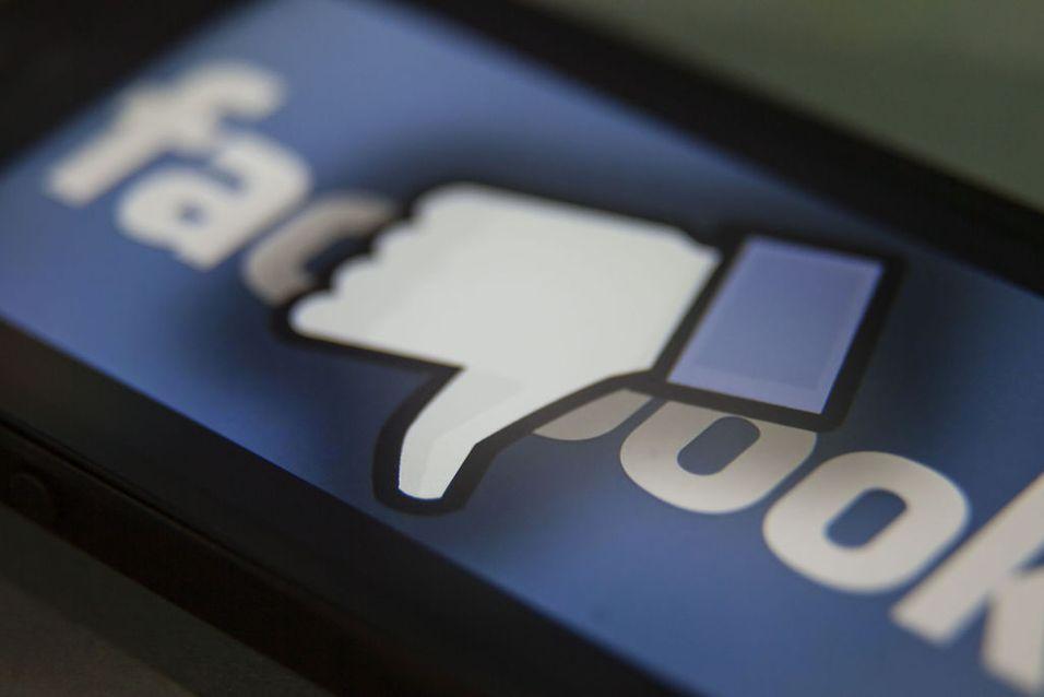 «LIKER-IKKE»: Facebook var redde for hvordan brukere ville takle å få mange «liker ikke»-tilbakemeldinger. Derfor innførte de aldri en funksjon med tommelen ned.