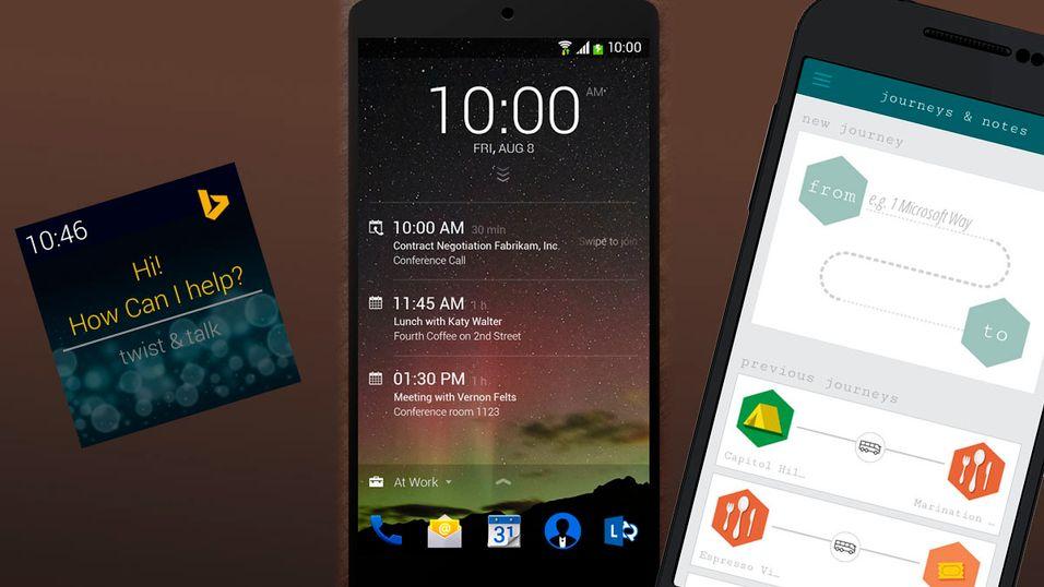 Microsoft har laget tre kule Android-apper