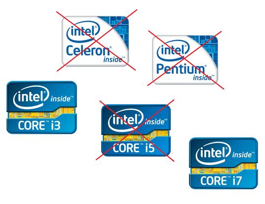 Hyper Threading-teknologi finner du kun hos modellene i Intels Core i3- og Core i7-serie.