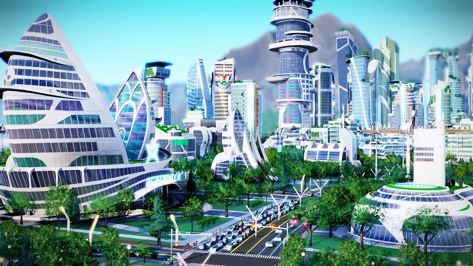 Dette er ett av bildene fra SimCity som Visionary Property hevdet var sitt eget.