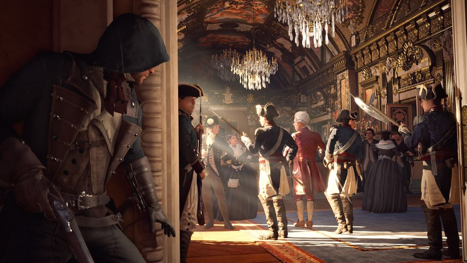 Assassin's Creed Unity er ikke en lettvekter.