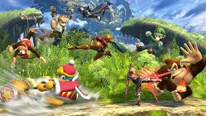 Super Smash Bros. for Wii U lar 8 spillere slåss samtidig