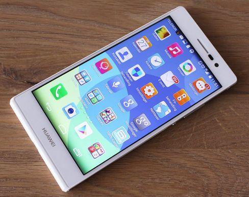 Huawei Ascend P7 har den foreløpig siste generasjonen systembrikke fra selskapet. Her har de også gått over til å bruke grafikkariktekturen Mali fra ARM.
