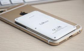 I forhold til en iPhone 6 er ikke Talkase så stor.
