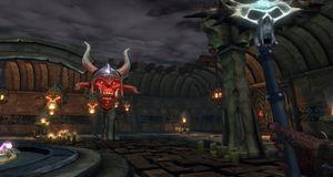 Førstepersons actionspill med eksplosiv magi