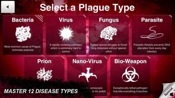 Plague Inc. går ut på å infisere verden med en dødelig sykdom.