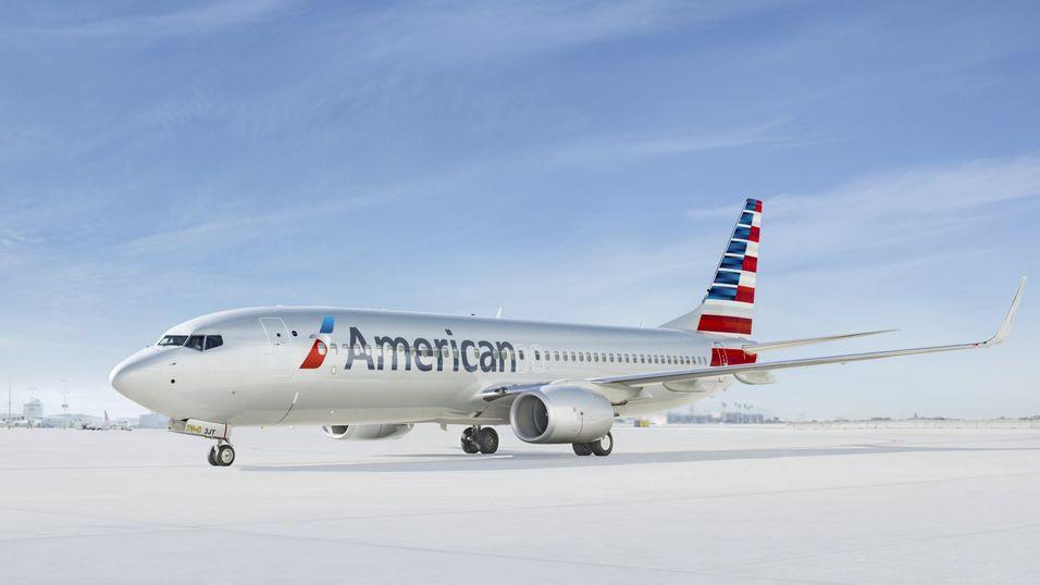 Illustrasjon: Et American Airlines Boeing 737-800.