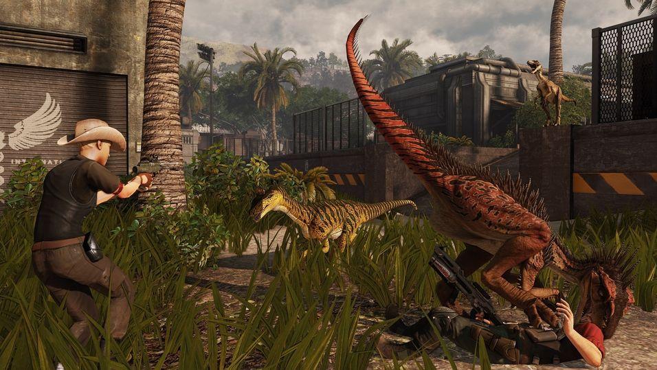 Heilomvending for dinosaurspel