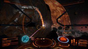 Gruvedrift i Elite: Dangerous er ikke helt som her hjemme på jorden. (bilde: Frontier Developments).