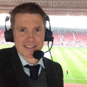 Kasper Wikestad er kommentator i TV 2 og mangeårig spiller av Football Manager-serien. (Foto med tillatelse av Wikestad).