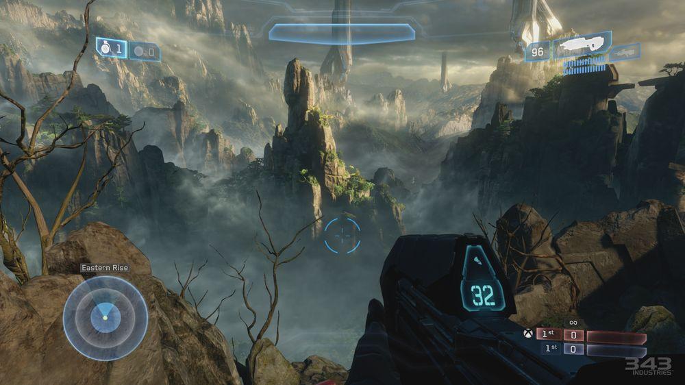 Halo 4 er tidvis blendande vakkert.