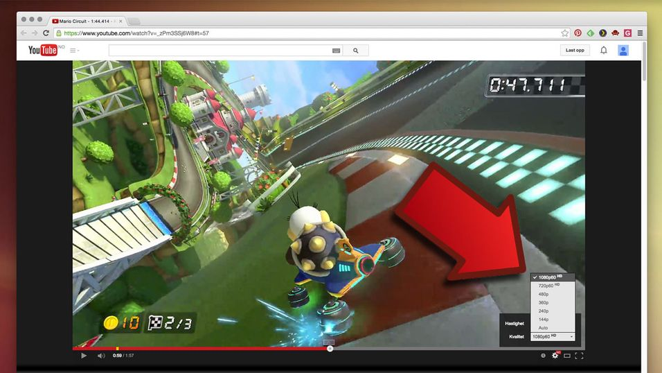 Brukere kan nå laste opp videoer med opptil 60 bilder i sekundet.