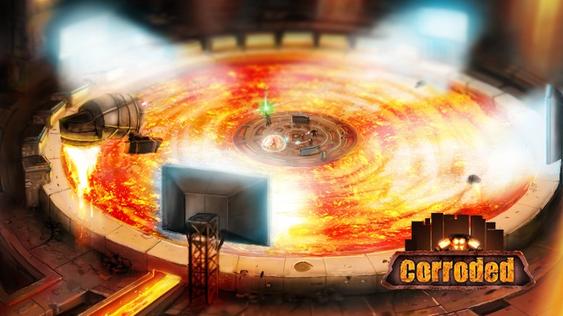 Kampene foregår på ulike arenaer, som blir mindre og mindre utover i runden.