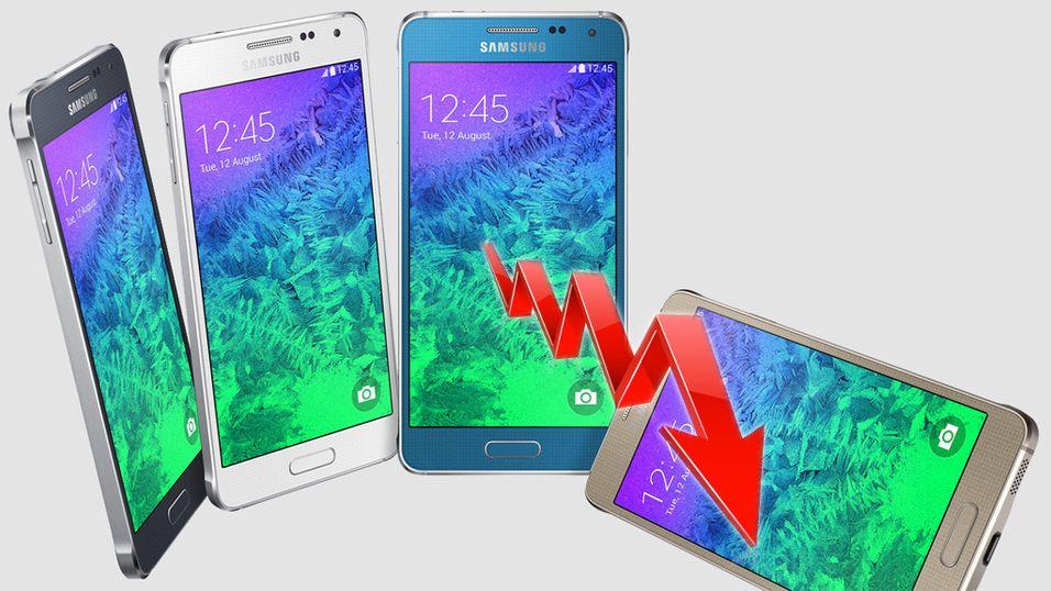 Samsung fortsetter nedturen