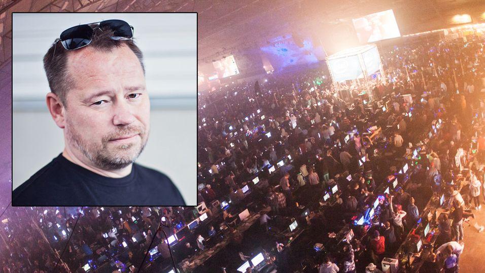 Robert Ohlén har vært en del av DreamHack siden 1997.