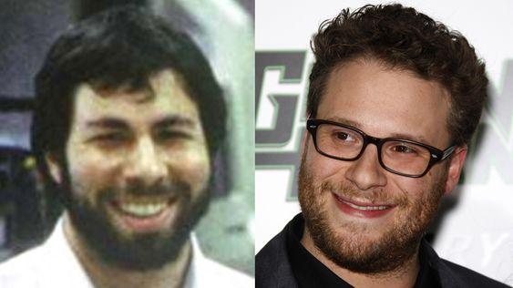 Steve Wozniack blir spilt av Seth Rogen i den kommende Steve Jobs-filmen.