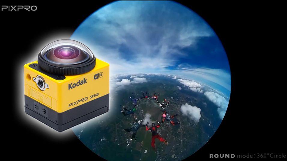 Kodak lanserer 360-graders actionkamera