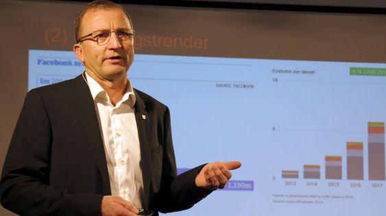 Dag Johansen er stolt av hvor mye data systemene kan analysere, og resultatene de kan oppnå.