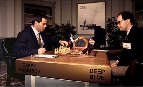 Kasparov taper 3½–2½ mot Deep Blue i 1997