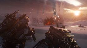 Call of Duty: Advanced Warfare, som dette skjermbildet er hentet fra, kunne fått en oppfølger om Sledgehammer hadde fått viljen sin.